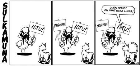 Kuinka koulutat kissasi