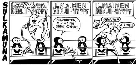Benji hyppy