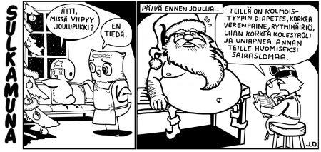 Joulupukin vapaapäivä
